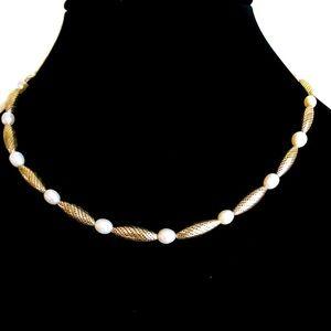 Brighton dream pearl necklace. Pearls silver plate